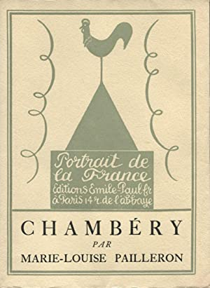 Chambery.: PAILLERON (Marie-Louise) :