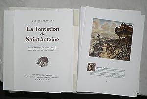 La Tentation de Saint Antoine.: BELTZ (Robert)] FLAUBERT (Gustave) :
