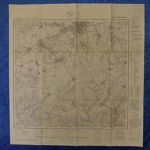 Landkarte der Gegend um Ziegenrück an der: Herausgegeben von der