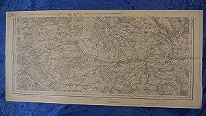 Landkarte der Gegend um Etain, Warcq, Hermeville,: Karte ohne Herausgeberhinweis