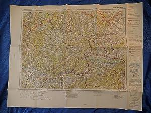 Landkarte der Gegend um Wien West, Würmla,: Herausgegeben vom Reichsamt