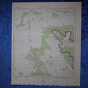 Landkarte der Umgebung von Lübtheen, Probst Jesar,: Hergestellt und herausgegeben:
