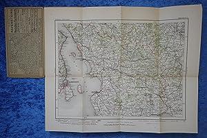 Landkarte aus der späten Kaiserzeit im Maßstab: Ludwig Ravensteins Verlag.