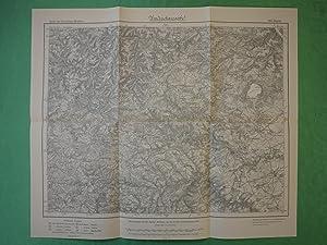 Landkarte der Gegend um Mayen, Herschbach, Virneburg,: Königlich Preußische Landesaufnahme.