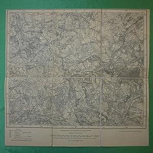 Landkarte der Gegend um Schivelbein, Rützenhagen, Regenwalde,: Landkarte der Preußischen