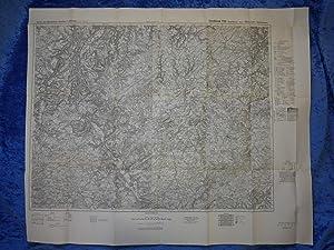 Landkarte der Gegend um Saarburg im Rheinland,: Landkarte, herausgegeben vom