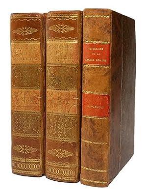 Glossaire de la langue romane: ROQUEFORT (Jean-Baptiste-Bonaventure de)