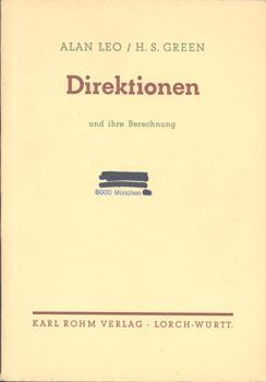 Direktionen und ihre Berechnung. Autorisierte Übersetzung aus: Leo, Alan (Ps.)