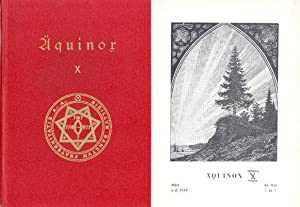 Äquinox X. Grimorium Sanctissimum - Liber XXV (Der Sternrubin), Liber XXXVI (Der Sternsaphir), ...