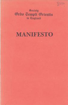 Society Ordo Templi Orientis in England: MANIFESTO.: Motta, Marcelo Ramos: