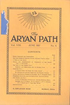The Aryan Path. Vol. VIII. June 1937, No. 6.: Theosophy Company (Hrsg.):
