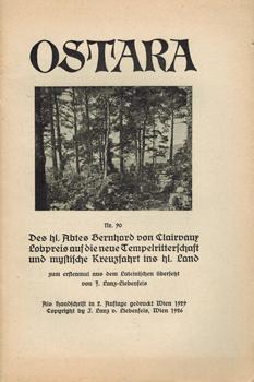 Ostara Nr. 90. Einführung in die Sexual-Physik: Liebenfels, J[örg] Lanz