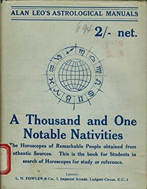 A Thousand and One Notable Nativities.