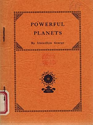 Powerful Planets. Astrologically Considered.