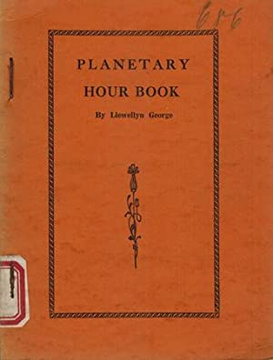 Planetary Hour Book.