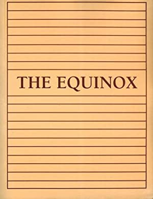 The Equinox; Volume I, Number I & II.