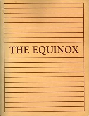 The Equinox; Volume I, Number IX & X.