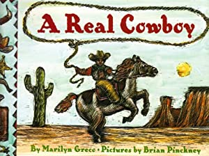 A Real Cowboy (Paperback): Marilyn Greco