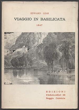 VIAGGIO IN BASILICATA 1847: Lear, Edward