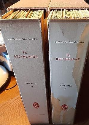 IL DECAMERONE-101 TAVOLE A COLORI DI GINO BOCCASILE: Boccaccio, Giovanni