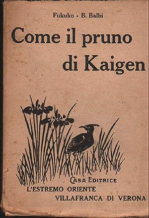COME IL PRUNO DI KAIGEN: Fukuko-Balbi.B.