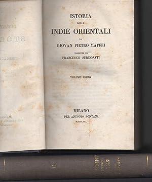 ISTORIA DELLE INDIE ORIENTALI: Maffei, Giovan Pietro