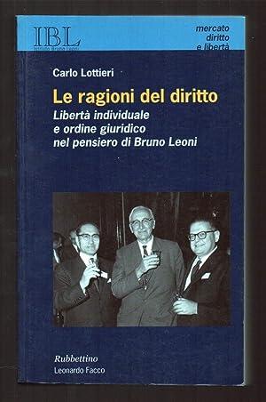 LE RAGIONI DEL DIRITTO Libert_ individuale e: Lottieri, Carlo