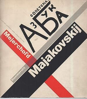 MAJAKOVSKIJ-MEJERCHOL'D-STANISLAVSKIJ-Catalogo della mostra Roma, Palazzo delle esposizioni: AA.VV.