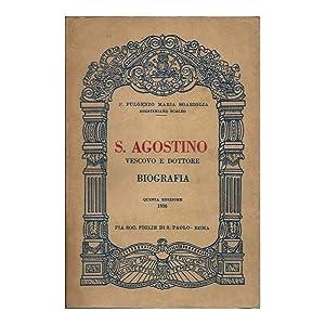 S. AGOSTINO VESCOVO E DOTTORE MASSIMO DELLA: Sgariglia, P. Fulgenzo