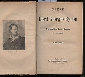 OPERE: Byron, Lord Giorgio