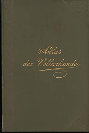 ATLAS DER VOLKERKUNDE (Berghaus Physikalischer Atlas, Abteilung: Gerland, Georg