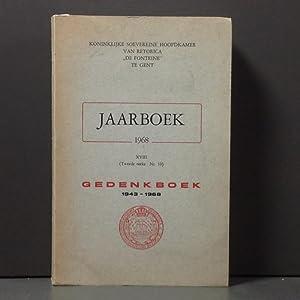 Jaarboek 1968, XVIII, 2de reeks, nr10: Gedenkboek (1943-1968): N/A