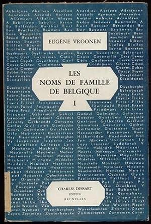Les noms de famille de Belgique: L'Histoire: Vroonen Eugène