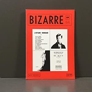 Bizarre, L\'affaire Rimbaud, 2 trimestre 1962, no.: Antoine Adam, .