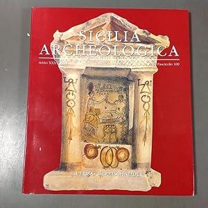 Sicilia Archeologica anno XXXV 2002 Fascicolo 100: N / A