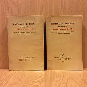 Miscellanea historica in honorem Leonis van der: N/A