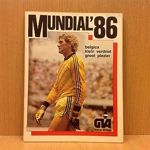 Gedenkalbum: Mundial \'86, belgica, klein verdriet, groot: N/A
