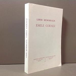 Liber memorialis Emile Cornez: N / A