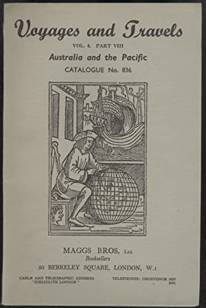 Voyages and Travels. Vol. 4. Part VIII: Maggs Bros. Ltd.,