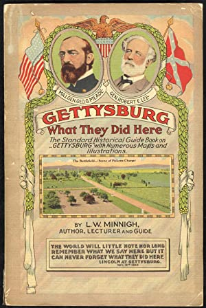 """Gettysburg: """"What They Did Here"""" (1924)(People's Popular: L. A. Minnigh"""