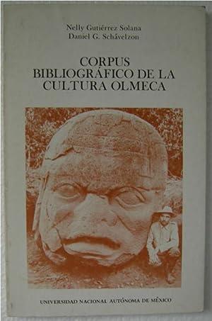 Corpus Bibliografico De La Cultura Olmeca: Solana, Nelly Gutierrez