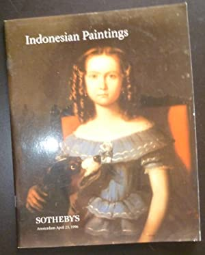 Indonesian Paintings April 23, 1996: Auction Catalogue Sotheby's