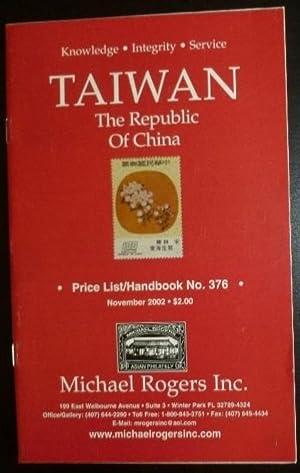 Michael Rogers Inc. Price List/Handbook Taiwan: The: Michael Rogers Inc.