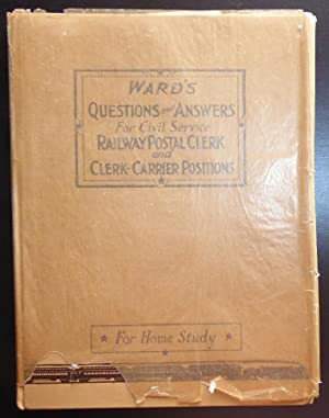 Ward's Questions and Answers for Civil Service: Ward, Herbert F.