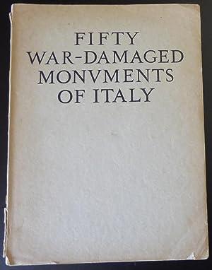 Fifty War-Damaged Monuments of Italy: Lavagnino, Emilio