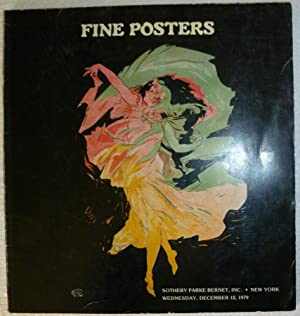 Fine Posters December 12, 1979: Auction Catalogue Sotheby