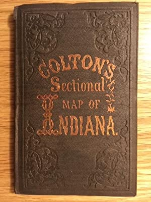 Colton's Sectional Map of Indiana