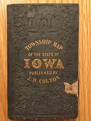 Colton Township Map of the State of Iowa