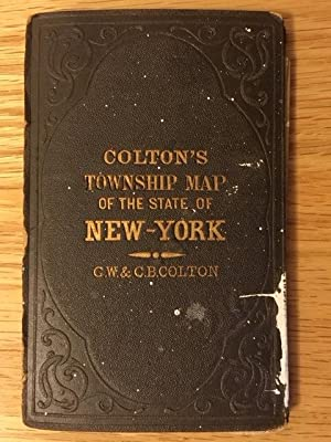 Colton's Township Map of the State of New-York