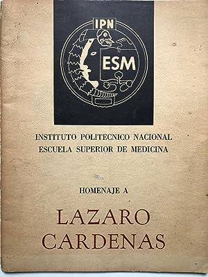 Homenaje a Lazaro Cardenas: Francisco Martinez de